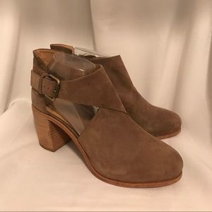 FREE PEOPLE Faryl Robin Suede Shoe Boots NEW
